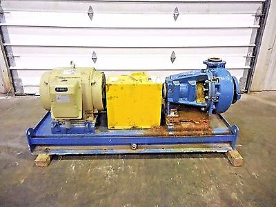 """RX-3636, METSO MM150 LHC-D 6"""" x 4"""" SLURRY PUMP W/ 60HP MOTOR AND FRAME"""