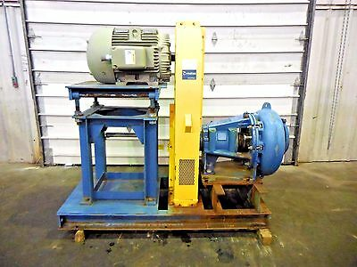 """RX-3616, METSO MM200 LHC-D 8"""" x 6"""" SLURRY PUMP W/ 75HP MOTOR AND FRAME"""