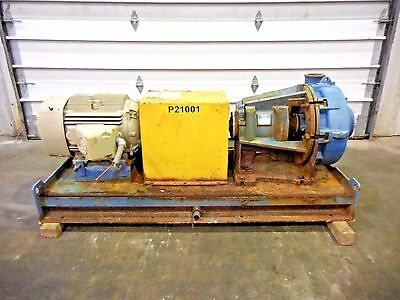 """RX-3633, METSO HM150 LHC-D 6"""" x 4"""" SLURRY PUMP W/ 25HP MOTOR AND FRAME"""