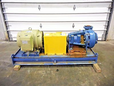 """RX-3635, METSO MM150 LHC-D 6"""" x 4"""" SLURRY PUMP W/ 60HP MOTOR AND FRAME"""