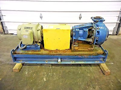 """RX-3640, METSO MM150 LHC-D 6"""" x 4"""" SLURRY PUMP W/ 15HP MOTOR AND FRAME"""