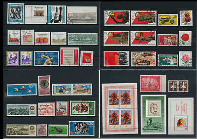 Stamps of Old Germany, DDR, Alliierte Besatzung, used,  great Lot (VQ 17)