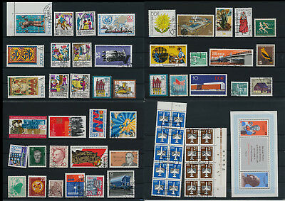 Stamps of Old Germany, DDR, Alliierte Besatzung, used,  great Lot (VQ 45)