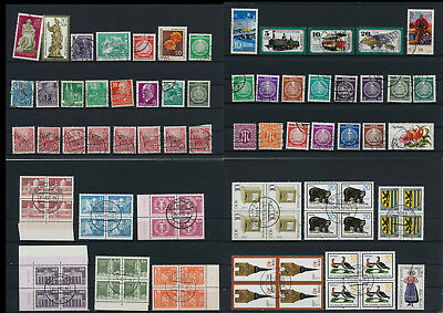 Stamps of Old Germany, DDR, Alliierte Besatzung, used,  great Lot (D 1)