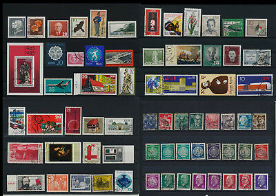 Stamps of Old Germany, DDR, Alliierte Besatzung, used,  great Lot (DDR 73)