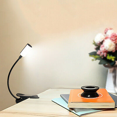 USB Rechargeable LED Book Light Flexible night readers Light Night Reading Lamp