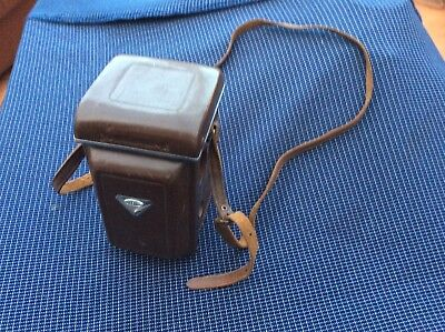 Vintage Leather Case For A Yashica  Camera