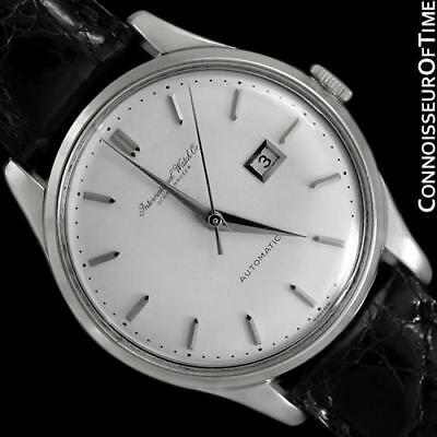 1962 IWC Vintage Mens Cal. 8531 Automatic SS Steel Watch - Mint with Warranty
