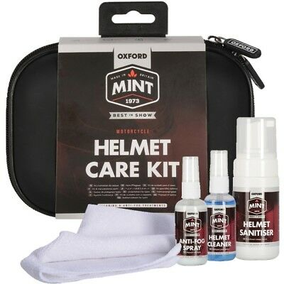 Oxford - Mint Helmet Care Set OC303 Reinigungs-Set sanitäre Einrichtungen Helm