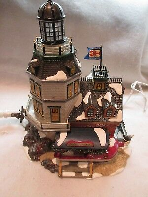 Dept 56 Snow Village Limited Edition Candlerock Lighthouse Restaurant #56 55045
