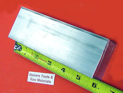 "3/8"" x 2-1/2"" ALUMINUM 6061 FLAT BAR 6"" long T651 Extruded Mill bar Stock"