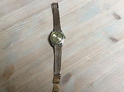 Old Vintage Wristwatch Called A Ruby Super Deluxe