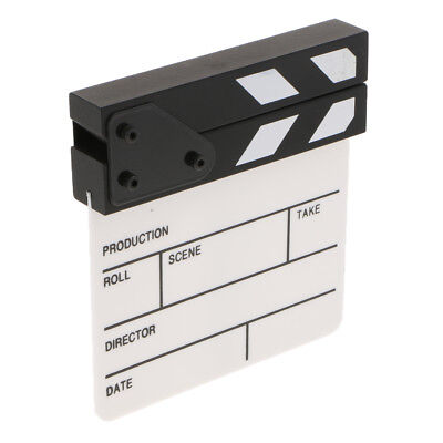 "Clapboard for Party Role Play Microfilm Movie Making Clapper Board 6.5""x6.0"""