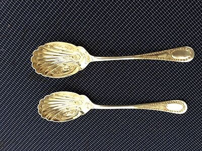 Pair of very Pretty serving spoons
