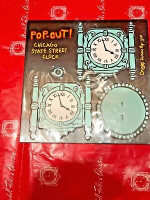 Marshall Field's Christmas - Chicago State St Clock Popout Puzzle By Marc Tetro