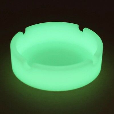Glow In The Dark - Luminous Silicone Ashtray For Smoking Cigarette Cigar Pipe