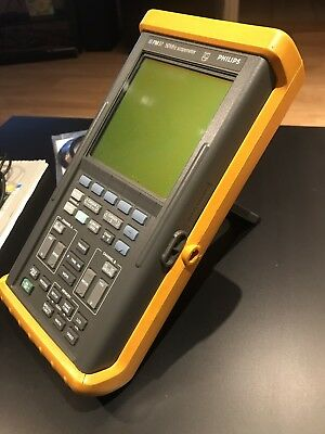 Phillips / Fluke PM97 50 Mhz Scopemeter with accessories/charger