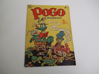 Vintage 10c Comic, Pogo Possum #6, by Walt Kelly, Dell 1951 Very Good Condition