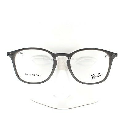a7191ab3fe Ray-Ban RB 8954 8029 Graphene Eyeglasses Frames Glasses Gray ~ Gunmetal 50mm