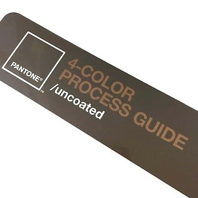 Pantone 4-Color Process Guide Uncoated New Factory Sealed Reference Tool
