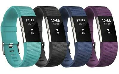 Fitbit Charge 2 Fitness Activity Tracker + Heart Rate FB407 Large Small colors