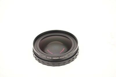 Century Optics 0.6x Wide Angle HD Adapter Lens for Panasonic AG-HPX170/AG-HMC150