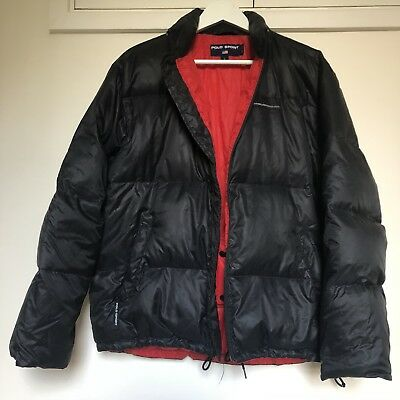 Excellent Cond Vintage Ralph Lauren Polo Sport Puffer Jacket 90S Lo Life
