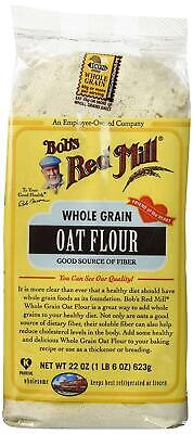 Bob's Red Mill Flour Oat, 22-ounces (Pack of4)
