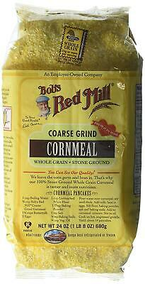 Bob's Red Mill Cornmeal Coarse Grind, 24-ounces (Pack of4)