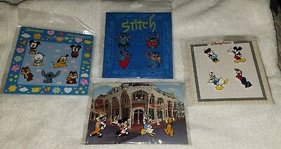 Disney Pins Booster Sets (4) 19 PINS Mickey Stitch Fab 5 New Authentic Free Ship