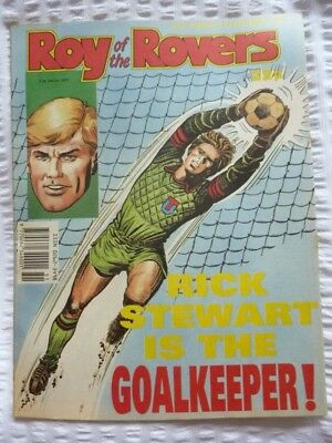 Roy of the Rovers Comic 23 12 1989 Exc