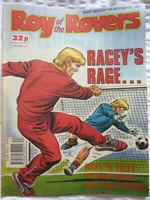 Roy of the Rovers Comic 04 11 1989 Exc