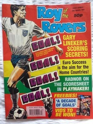 Roy of the Rovers Comic 30 03 1991 Exc Condition