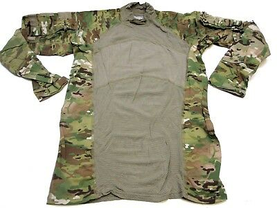 ARMY OCP MULTICAM COMBAT SHIRTS SMALL FLAME RESISTANT HOT WEATHER TOP SHIRT br