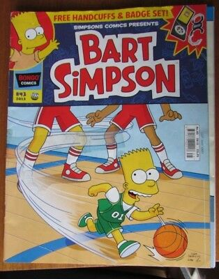 Bart Simpson magazine - issue #43 - Comic from 2013 - British