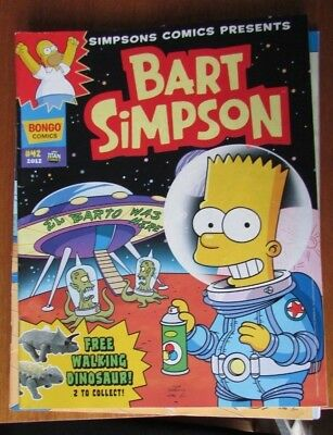 Bart Simpson magazine - issue #42 - Comic from 2012 - British