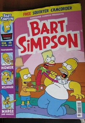 Bart Simpson magazine - issue #38 - Comics from 2012 - British