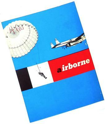 1954 US ARMY AIRBORNE Paratrooper recruiting brochure