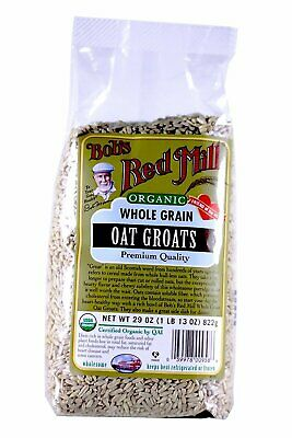 Bob's Red Mill Organic Oats Whole Groats - 29 oz - 2 Pack