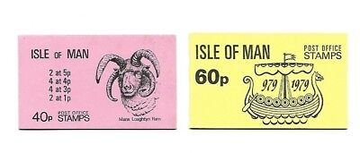 Isle of Man - Booklets - 40p & 60p - 1979