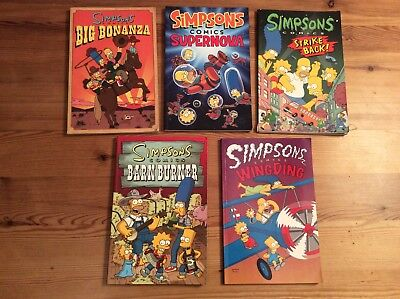 Simpsons comics books bundle good con