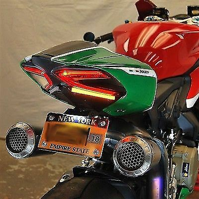 Ducati Panigale 1199 Fender Eliminator Kit New Rage Cycles under tail Plug &play
