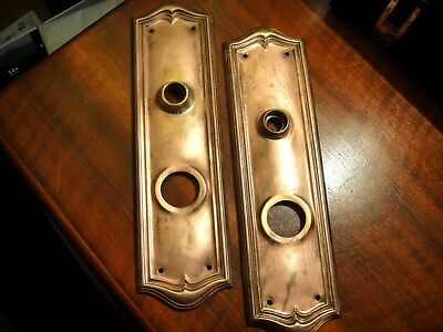 Vintage Antique Door Knob Back Plates