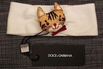Genuine Dolce And Gabbana D&G Junior Kids Soft Headband