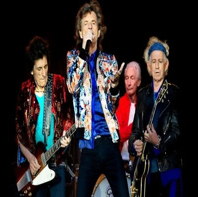 Rolling Stones - GA Field Ticket Gillette Stadium Foxburough MA 6/8/19