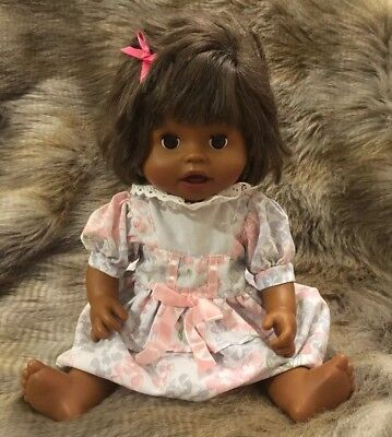 Mattel Little Mommy Baby Ah-Choo Doll Interactive Sneezing Fisher-Price African