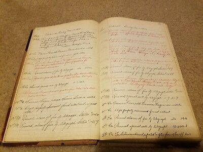 Antique 1931 FDNY  Engine Company 216 NYC Firehouse Log Book ledger Journal fire