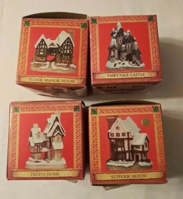 David Winter Cottages From John Hone Studios Set Of 4