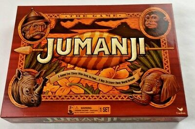 Jumanji Action Board Game 2017 Cardinal Edition Complete Excellent Condition