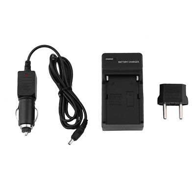 2 Slots Dual Battery Charger Smart Car Charger Rechargeable For SONY-FM50